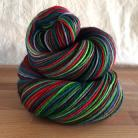 """""""Jingle All The Way"""" Vesper Sock Yarn DYED TO ORDER"""