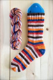 ..'Cabin Fever' Vesper Sock Yarn DYED TO ORDER