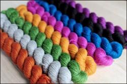 """Brilliantly Bold"" Mitten Yarn Kit"