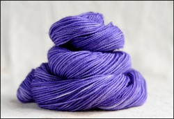 'Lavender' Semi-Solid Vesper Sock Yarn Dyed to Order