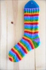 'Rainbow Love' Vesper Sock Yarn DYED TO ORDER