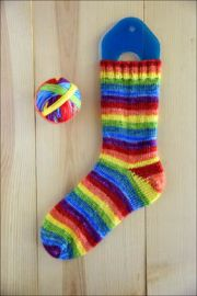 'Double Happiness' Vesper Sock Yarn DYED TO ORDER