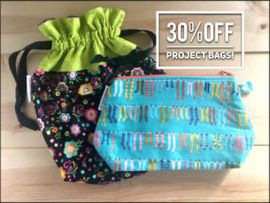 'Sky's the Limit' Small Poppins Project Bag 30% OFF!