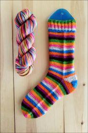 ..'Brilliantly Bold!' Vesper Sock Yarn DYED TO ORDER
