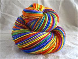 'Pure Prism' Vesper Sock Yarn DYED TO ORDER